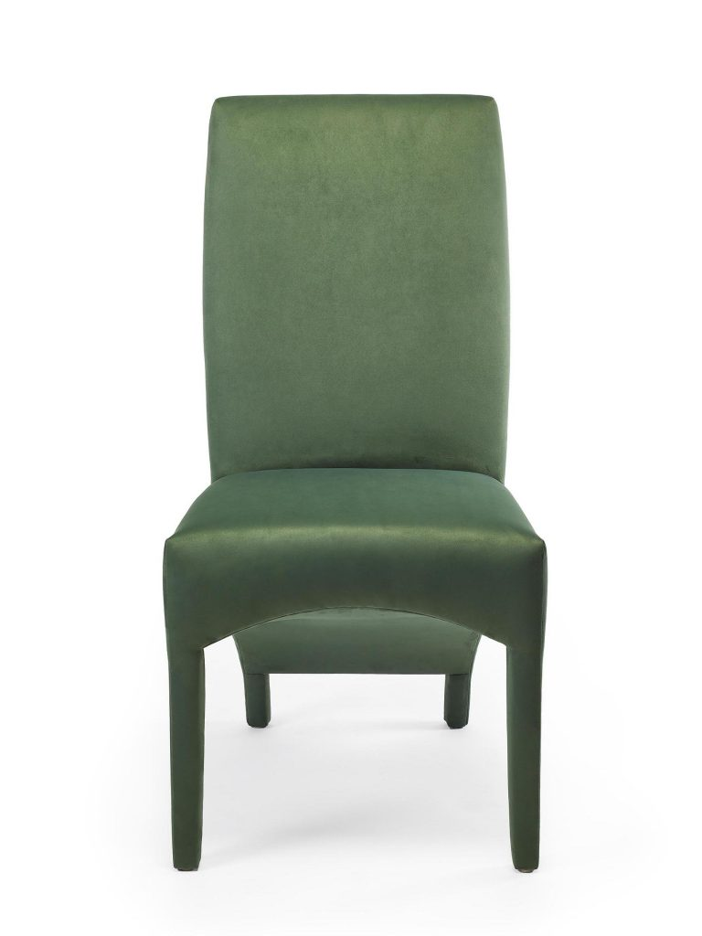 Tailored Chair, Front View, Sara Jaffe