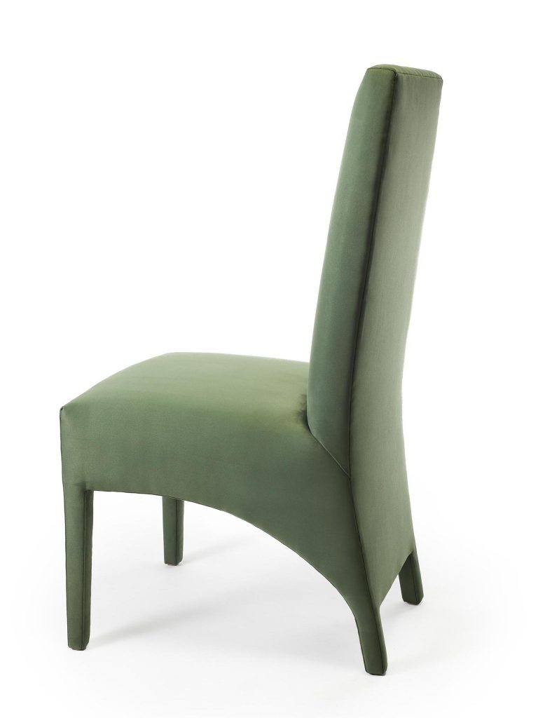 Tailored Chair, Front Angled View, Sara Jaffe